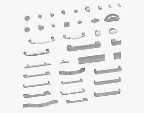 3D model furniture Furniture Handles