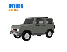 3D asset Mini Jeep