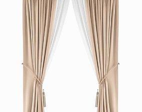 3D model Curtains536