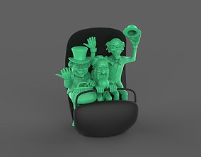 3D printable model Hitchhiking Ghosts in Doom Buggy The 1