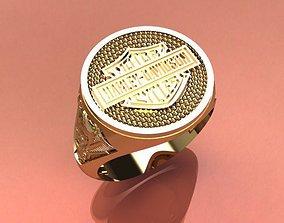 3D printable model HARLEY DAVIDSON RING