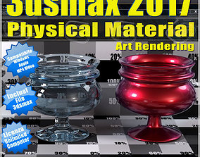 3ds max 2017 Physical Material Art Rendering vol 61 MP4