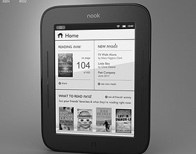 3D model Barnes and Noble Nook Simple Touch