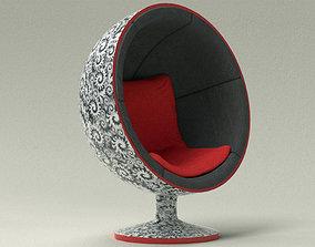 3D model Ball Chair