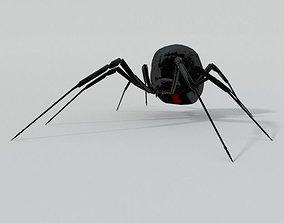 Black Widow 3D asset