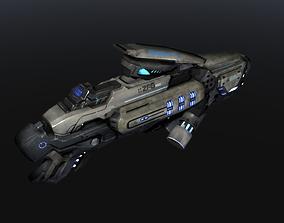 3D asset Scifi Plasma Gun