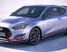 Hyundai Veloster N 2019 3D