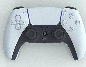 realtime PS5 DualSense Game 3DPrint Render gameplay