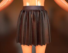 3D asset Sexy School Skirt