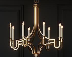 3D Chapman and Meyers Mykonos Light Small Chandelier