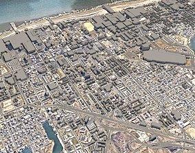3D model Atlantic City New Jersey USA