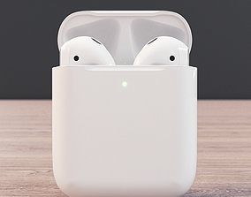 Apple Airpods 2 3D