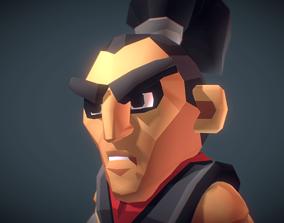 3D model Ronin The Samurai - Proto Series