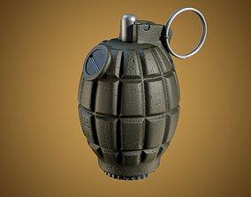 3D model 36M Mills bomb