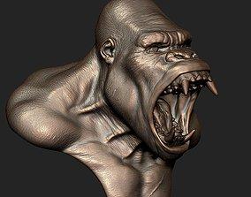 kong Gorilla 3D print model