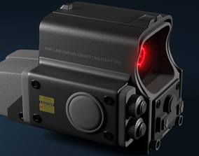 551 Holographic Sight 3D model