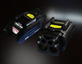 Steiner DBAL-PL laser pistol light 3D asset