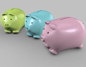 3D Piggy-Bank