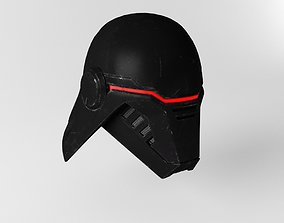 3D asset Star Wars Second Sister Helmet