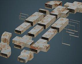 HVAC Duct 1B 3D model