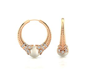 Earrings-0624 3D print model