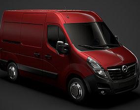 Opel Movano L1H2 Van 2020 3D