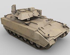 Bradley Fighting Vehicle 3D