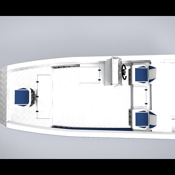 Aluminium boat 5500x1925 (mm)