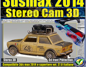 animated 3ds max 2014 Stereo Cam 3D v 27 Italiano cd