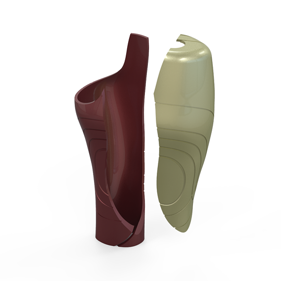 Cosmetic Cover For Prosthetic Leg