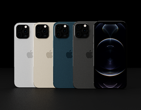 3D asset game-ready iPhone 13 Pro Max According to Leaks