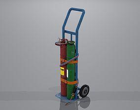 3D model Welding station PBR
