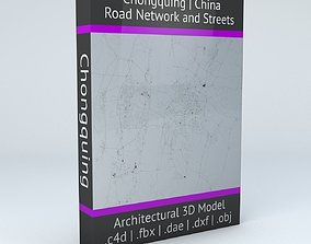 Chongquing Road Network and Streets 3D model