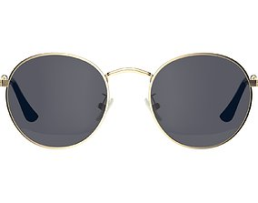 3D Round Polarized Sunglasses