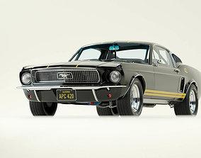 3D Car Mustang Fastback