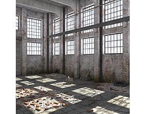 Warehouse Scene 3D asset
