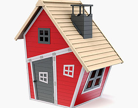 Kids House 3D model