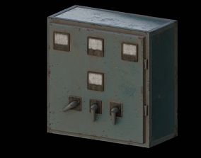 3D asset Old Switchboard