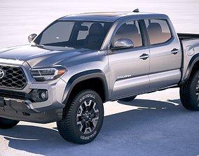 Toyota Tacoma TRD 2020 3D model