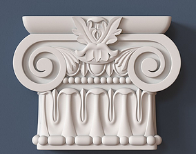 Pilaster Capital decoration 3D