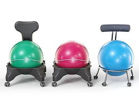 3D Exercise Ball Office Chairs Collection