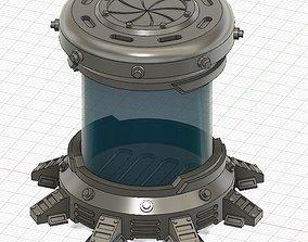 3D printable model sci-fi Cryo Chamber