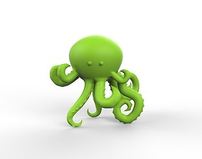 Octopus 3d print model