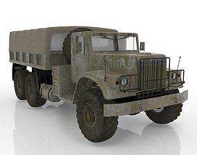 Kraz vehicle 3D