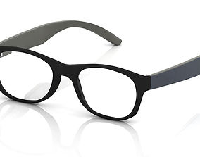 Eyeglass for Men seeing 3D printable model
