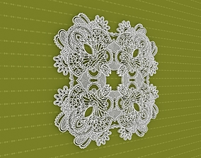 lasercut mandala 3D model Mandala