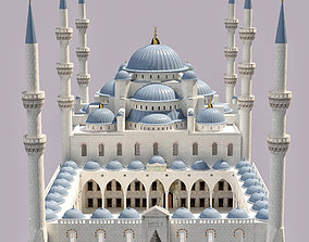 Sultan Ahmet Mosque 3D model