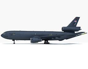 3D McDonnell Douglas KC-10 Extender