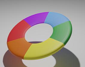Color Wheel 3D model