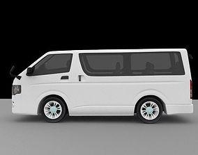 3D asset Toyota KHD low poly